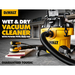 DeWalt DXV23PTA 23L Wet & Dry Vacuum Cleaner with Power Tool Take Off