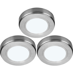 Sensio LED Low Voltage Round Under Cabinet Light Kit 24V