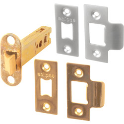 Eclipse Ironmongery Supa Tubular Latch 102mm - 51868 - from Toolstation