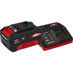 Einhell Einhell PXC 18V Battery & Charger 1 x 4.0Ah - 51882 - from Toolstation