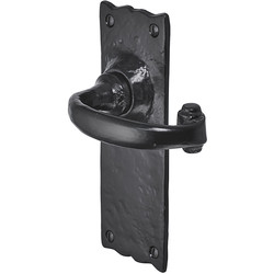 Old Hill Old Hill Ironworks Burford Suite Door Handles 158mm x 55mm Latch - 51922 - from Toolstation