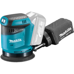 Makita Makita DBO180Z 18V Cordless Orbital Sander Body Only - 51979 - from Toolstation