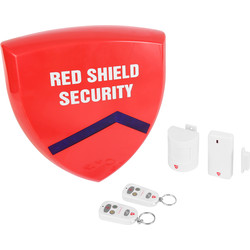 Red Shield Security Red Shield Standard Wireless Alarm System  - 52017 - from Toolstation