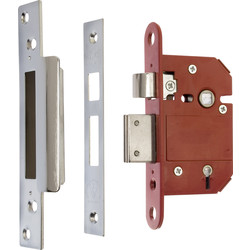 ERA ERA BS 5 Lever Fortress Sashlock Chrome 64mm - 52019 - from Toolstation