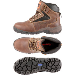Work-Guard Carrick Safety Boots Size 9 - 52054 - from Toolstation