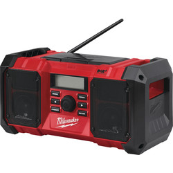 Milwaukee M18JSRDAB-0 18V Li-Ion DAB+ Jobsite Radio Body Only