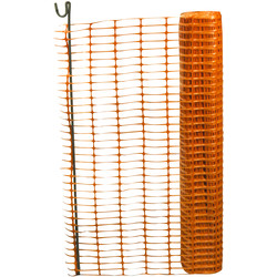 Orange Safety Fencing 1m x 50m