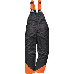 Chainsaw Bib & Brace Trousers Medium - 52256 - from Toolstation