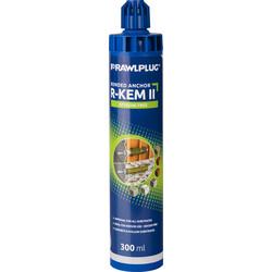 Rawlplug Rawlplug R-KEM-II Polyester Resin 300ml - 52276 - from Toolstation