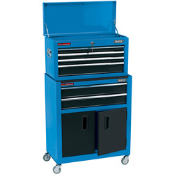 Draper Draper Combined Roller Cabinet and Tool Chest Blue - 52289 - from Toolstation