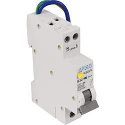Axiom Axiom Mini RCBO A Type 32A 30mA - 52311 - from Toolstation
