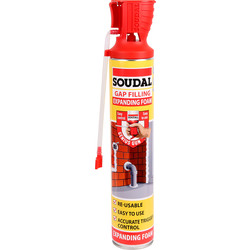 Soudal Gap Filling Expanding Foam 750ml