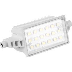 CED LED Halogen Replacement Floodlight Lamp 6W 520lm 78mm - 52367 - from Toolstation
