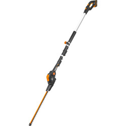 Worx Worx 20V 45cm Cordless Long Reach Hedge Trimmer 1 x 2.0Ah - 52397 - from Toolstation