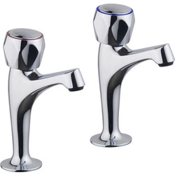 Ebb and Flo Ebb + Flo Contract Pillar Kitchen Taps  - 52398 - from Toolstation