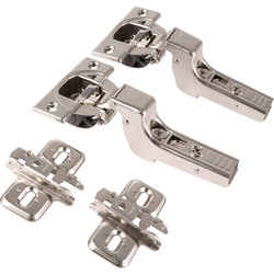 Blum Blum Soft Close Blumotion Concealed Hinge 110° Inset - 52409 - from Toolstation