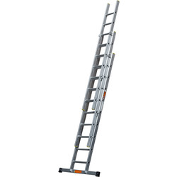 TB Davies TB Davies Pro Trade Triple Extension Ladder 2.5m - 52411 - from Toolstation