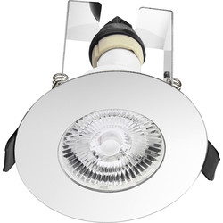 Integral LED Integral LED Evofire IP65 Fire Rated Downlight Polished Chrome with Insulation Guard - 52441 - from Toolstation