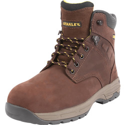 Stanley Impact Safety Boots Brown Size 7