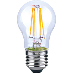 Integral LED Integral LED Filament Ball Dimmable Lamp 4.5W ES (E27) 470lm - 52465 - from Toolstation