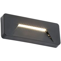Coast Breez Rectangular Surface LED Brick Light 3W 280lm - 52603 - from Toolstation