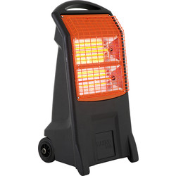 Rhino Rhino TQ3 Infrared Heater 2.2kW 240v - 12.2A - 52617 - from Toolstation