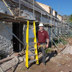 TB Davies Fibreglass Platform Step Ladder