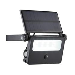 Zinc 2W Solar Powered PIR Security Light IP44