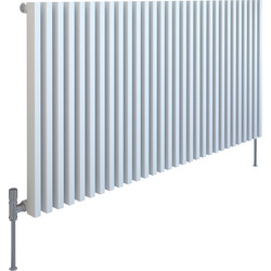 Kudox Kudox Xylo White Designer Radiator 600 x 1180mm 3866Btu - 52797 - from Toolstation