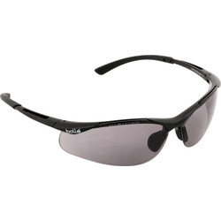 Bolle Contour Safety Glasses Smoke