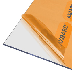 Axgard Axgard 4mm Polycarbonate Clear Impact Resisting Glazing Sheet 620 x 2500mm - 52902 - from Toolstation