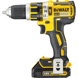 DeWalt DeWalt DCD795S1-GB 18V Li-Ion Cordless Brushless Combi Drill 1 x 1.5Ah - 52936 - from Toolstation