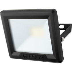 Wessex Electrical Wessex LED Floodlight IP65 10W 800lm Black - 52961 - from Toolstation