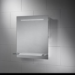 Sensio Sensio Nyla LED Shelf Mirror 600 x 500 x 140mm - 52992 - from Toolstation
