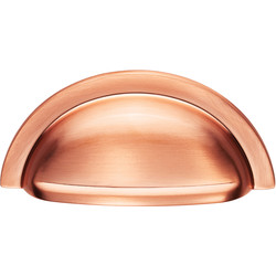 Carlisle Brass Oxford Cup Pull 76mm Satin Copper - 53051 - from Toolstation