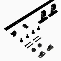 Coburn Flat Track Mini Top Mount Hanger One Door System