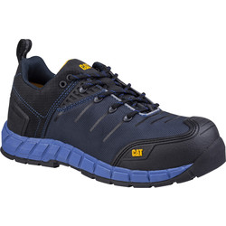CAT Caterpillar Byway Safety Trainer Blue Size 10 - 53132 - from Toolstation