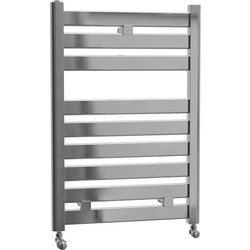 Cassellie Fewston Straight Designer Radiator 719 x 500mm Chrome 871Btu - 53263 - from Toolstation