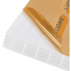 Axiome Axiome 25mm Polycarbonate Opal Fivewall Sheet 690 x 5000mm - 53284 - from Toolstation