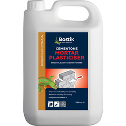 Bostik Bostik Cementone Mortar Plasticiser 5L - 53295 - from Toolstation