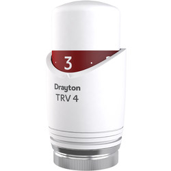 Drayton Drayton TRV4 Integral Head White - 53299 - from Toolstation