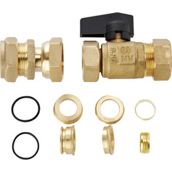 Salamander Salamander HomeBoost Mains Boosting Pump Fittings Kit - 53324 - from Toolstation