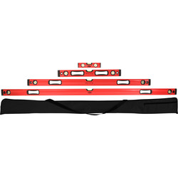 Minotaur Minotaur Spirit Level Set  - 53345 - from Toolstation