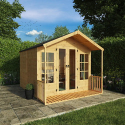 Mercia Mercia Premium Traditional Summerhouse 10' x 8' - 53381 - from Toolstation