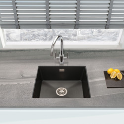Granite Composite Single Bowl Undermount Kitchen Sink