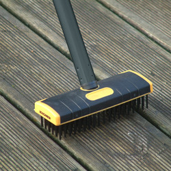Roughneck Patio & Decking Brush Set
