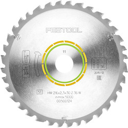 Festool Festool TCT Saw Blade For KS 60 W36 Universal 216mm - 53470 - from Toolstation