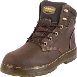 Dr Martens Dr Martens Brace Safety Boots Brown Size 8 - 53473 - from Toolstation