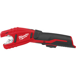 Milwaukee Milwaukee C12PC-0 12V Li-Ion Cordless Compact Pipe Cutter Body Only - 53595 - from Toolstation