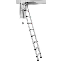 Telesteps Telesteps Loft Line Mini Loft Ladder 2.45m - 53636 - from Toolstation
